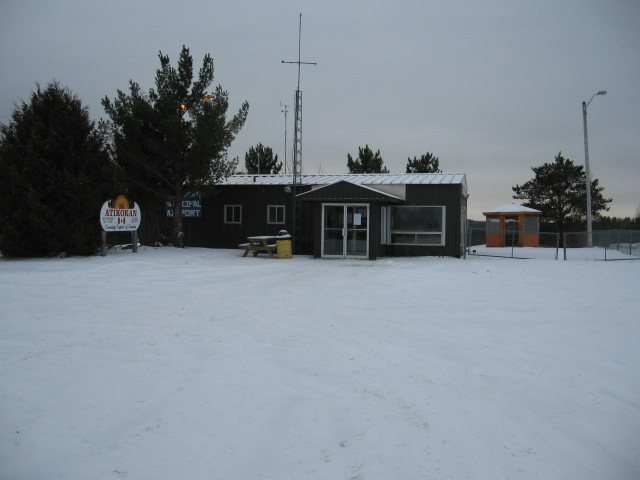 municipal airport building
